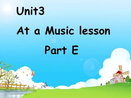 Unit3 At a Music lesson Part E. Ask and answer. A: Can you …? B: Yes, I can. / No, I cant. fly readswim run cook ski ( )