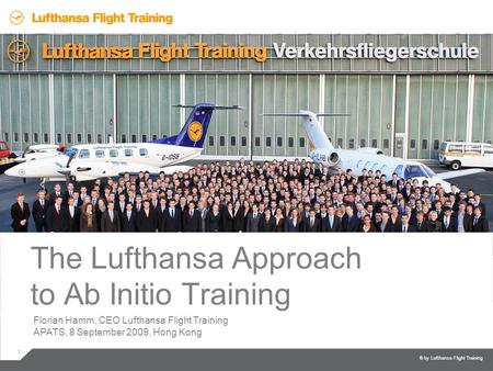 The Lufthansa Approach to Ab Initio Training