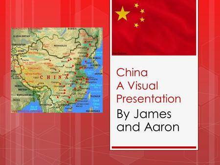China A Visual Presentation By James and Aaron Lasted from 220-589 Followed the collapse of the Han Dynasty Popularity of Buddhism and Taoism grew Period.
