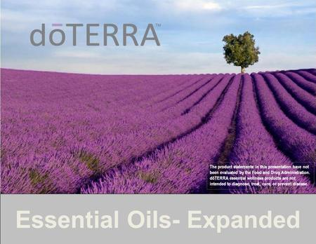 Essential Oils- Expanded