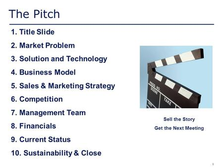 Fundamentals of an Investor Pitch The material in this presentation is that of the presenter and does not necessarily represent the opinions of Deloitte.