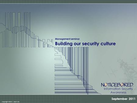 Building our security culture