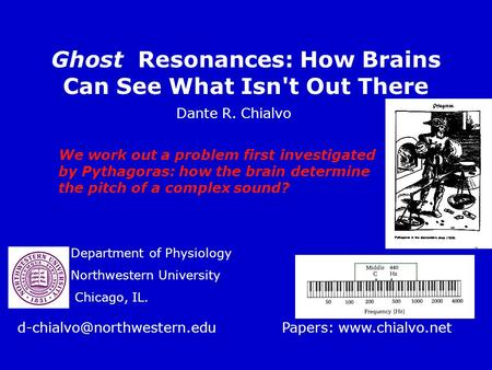 Ghost Resonances: How Brains Can See What Isn't Out There