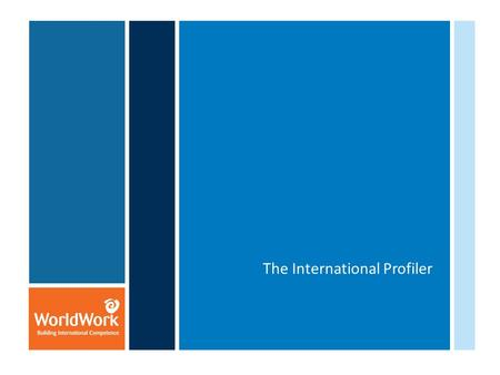 The International Profiler