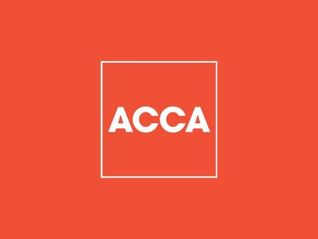 OVERVIEW About ACCA Why ACCA? Exams and Qualifications Exemptions