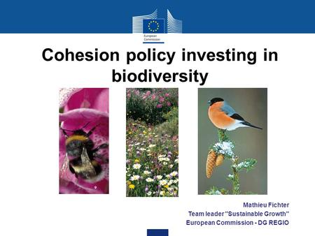 Cohesion policy investing in biodiversity