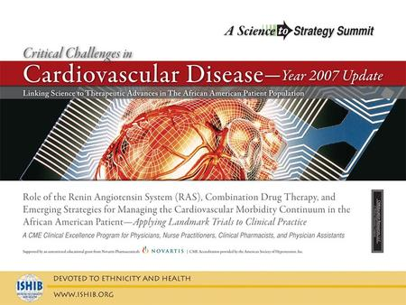 Critical Challenges in Cardiovascular Disease