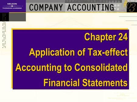 consolidation of accounts Additional consolidation accounts let you assign an account from an existing chart of accounts to a consolidation account group you can then specify a consolidation account value and name.