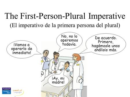 The First-Person-Plural Imperative