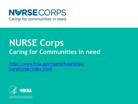 NURSE Corps Caring for Communities in need  nursecorps/index.html  nursecorps/index.html.