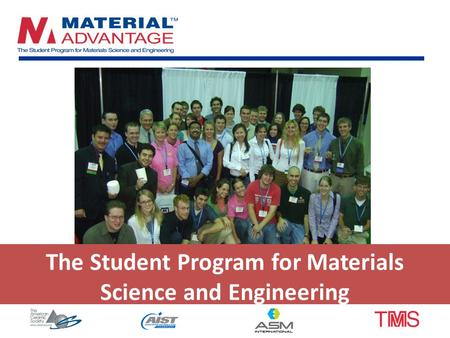 The Student Program for Materials Science and Engineering.