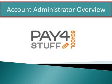 Account Administrator Overview. Price Controls Date Controls Inventory Controls Custom Reports Form Creator Internal E-Mail Function Features.