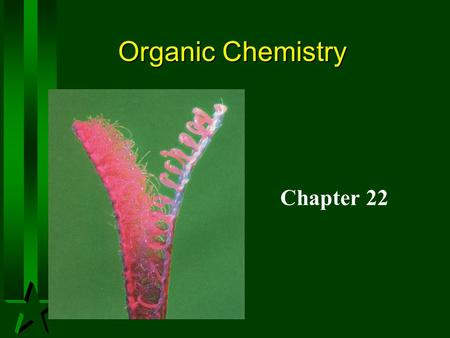 Organic Chemistry Chapter 22.