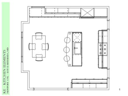 1 Ke – Kitchen Elements Newport Ave. – Lot 13 Bethesda, MD.