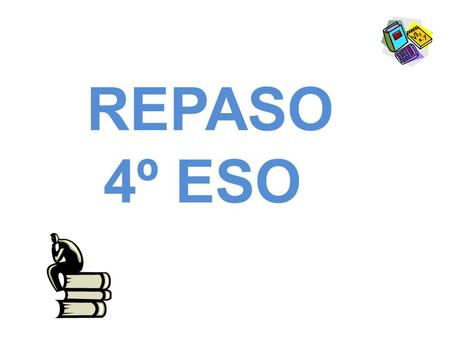 REPASO 4º ESO. Present simple + - ? he/ she / it : -s -es (plays, goes) Conson + y = – ies (study- studies) O = es (go – goes) S, x, ch, sh = es (watch-