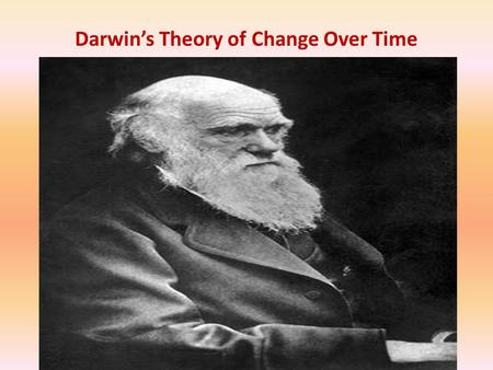 Darwin's Theory of Change Over Time