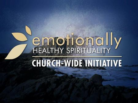 The Problem of Emotionally Unhealthy Spirituality: Part 1 1 Samuel 15:20-31.