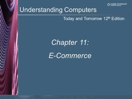 Chapter 11: E-Commerce.