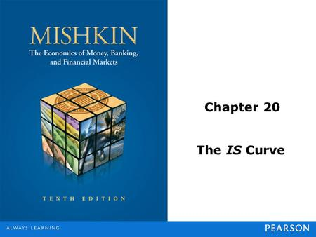 Chapter 20 The IS Curve. © 2013 Pearson Education, Inc. All rights reserved.20-2 Planned Expenditure and Aggregate Demand Planned expenditure is the total.