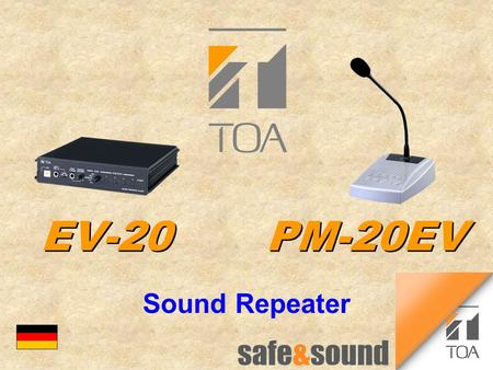 Bc EV-20	PM-20EV Sound Repeater.