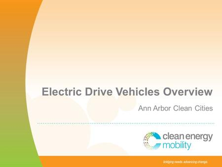 Electric Drive Vehicles Overview Ann Arbor Clean Cities.