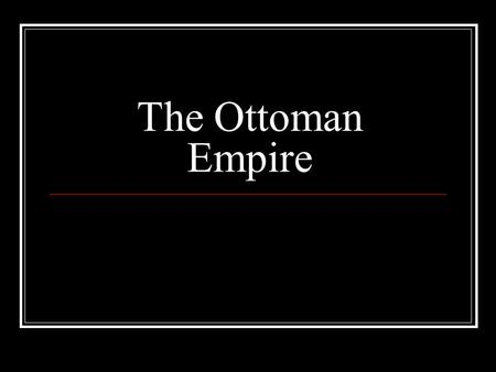 The Ottoman Empire. During the 1060s the Seljuk sultan Alp Arslan allowed his Turkish allies to migrate towards Armenia and Asia Minor, where they sacked.