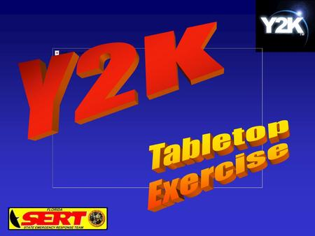 Y2K Response New Challenges The traditional response to disasters is based on the ability to move resources from an unaffected area to the area of impact.