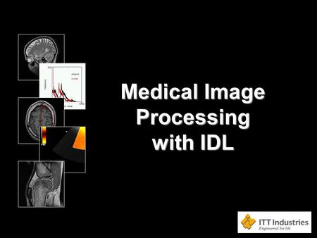 Medical Image Processing with IDL. This is a <strong>three</strong>-day course on image processing in IDL, with an emphasis on hands-on demonstration of image processing.