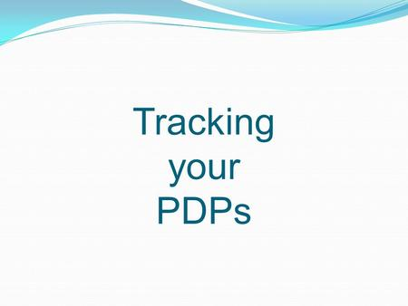 TrackingyourPDPs. How many PDPs do I need? First time renewal- Group 3 Primary Area: 150 Content/pedagogy: 120 minimum Content: 90 10 hours in a topic.