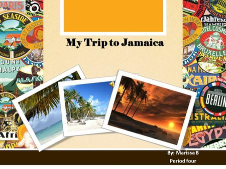 MONDAY TO FRIDAY 9AM TO 5 PM 123 WEST MAIN STREET NEW YORK, NY 10001 WWW.BESTTRAVEL.COM BEST TRAVEL, INC. YOUR TRAVEL HEADQUARTERS My Trip to Jamaica.