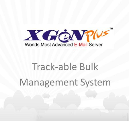 Track-able Bulk Management System. Agenda: Why TBMS? Track-able Bulk Management System (TBMS) TBMS Flow Benefits.