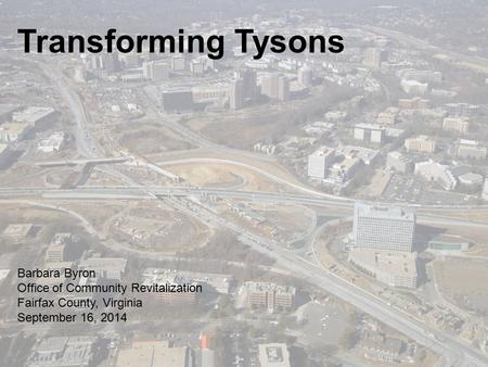 What's Happening? What's happening in Tysons? A lot!