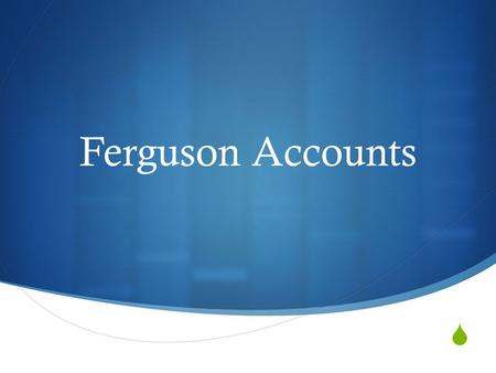  Ferguson Accounts. Account of Events From Michael Brown Supporters And Other Witnesses  Michael Brown and Dorian Johnson got to Ferguson Market and.