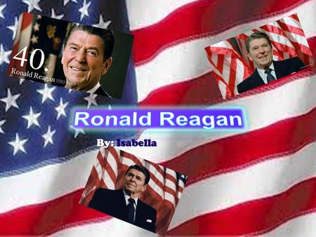 By: Isabella. Early Life Ronald Reagan was born in the U.S.A. in Tampico, Illinois. He was born on February 6, 1911, and his father nicknamed him Dutch.