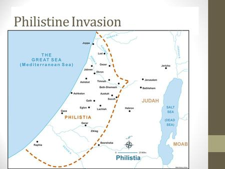 Philistine Invasion. Exodus: Yahweh to the Rescue Roadmap of the Bible Creation-------------------------------------------------------------------------New.