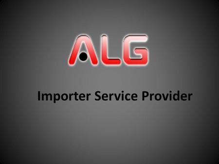 Importer Service Provider. About Company «Alliance Logistics Georgia» company is registered on the basis of 6 distribution companies, which were running.