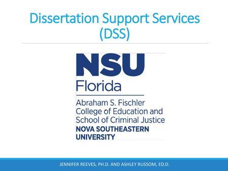 The Dissertation Proces Ppt Video Online Download Nova Southeastern University Template