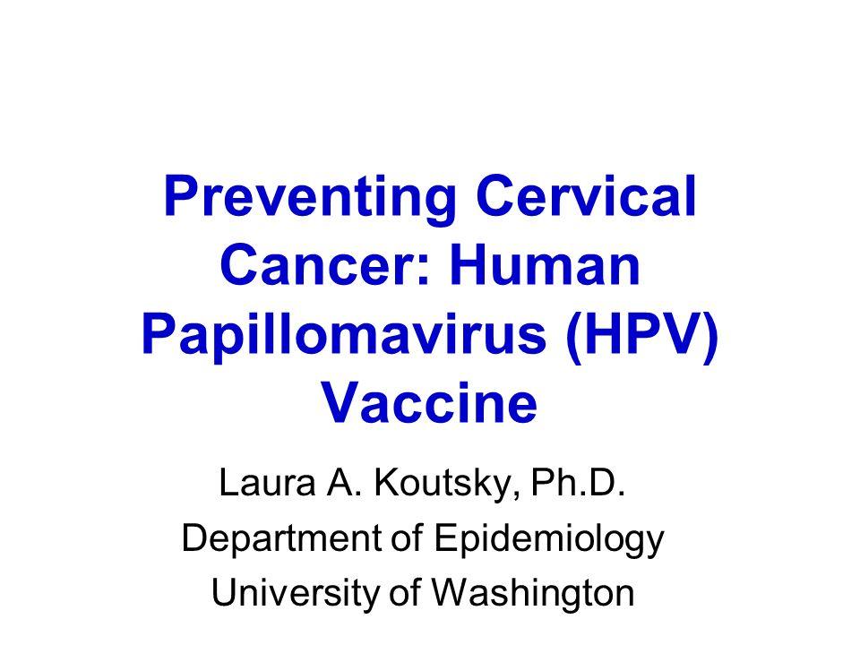 human papillomavirus vaccine presentation