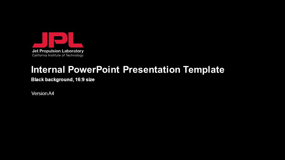 Internal Powerpoint Presentation Template Version A4 Black Background 16 9 Size Ppt Download