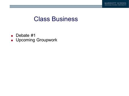 Class Business Debate #1 Upcoming Groupwork. Hedge Funds A private investment pool, open to wealthy or institutional investors. – Minimum investment at.