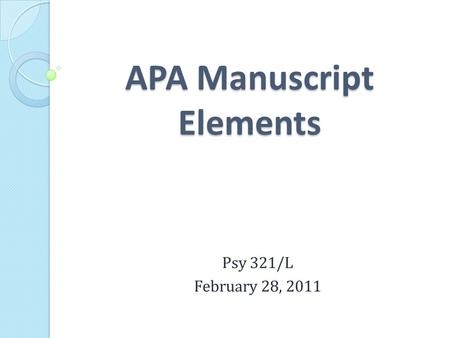 apa dissertation manuscript Thesis/dissertation - apa reference list capitalization the document title is in sentence case - only the first word and proper nouns in the title are capitalized always capitalize the first word, the first word after a colon or a dash.