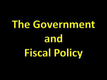 How does the government affect us? Mixed economies = government + private sector What is the best mix???