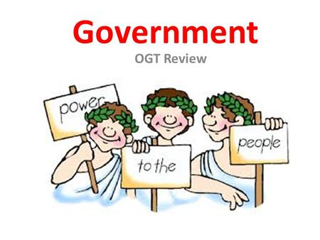 Government OGT Review.