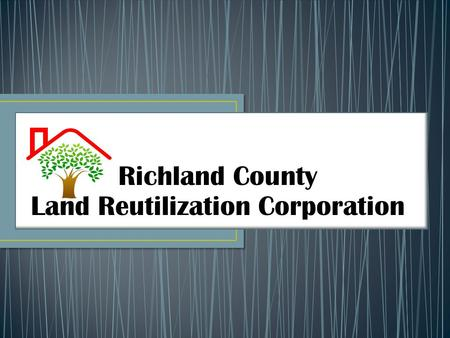 Richland County Land Reutilization Corporation.