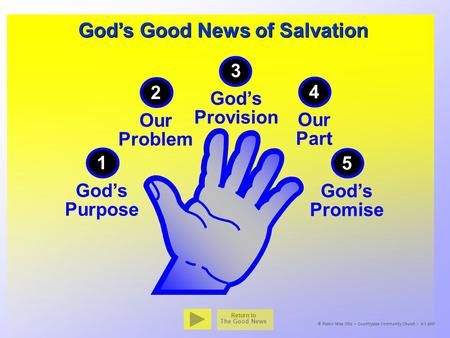 God's Good News of Salvation