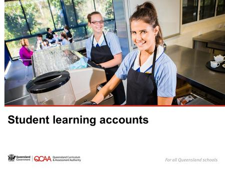 Student learning accounts. Your learning account All Year 11 and 12 students in Queensland have a learning account. When you're in Year 10 or turn 15.
