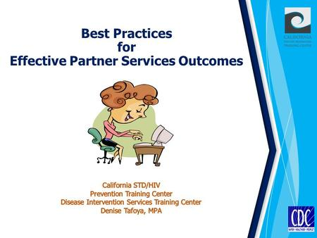 Best Practices for Effective Partner Services Outcomes.