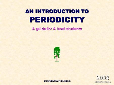 A guide for A level students KNOCKHARDY PUBLISHING