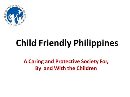 Child Friendly Philippines