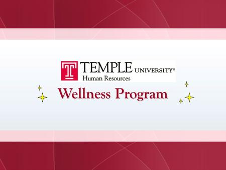 Wellness Program.
